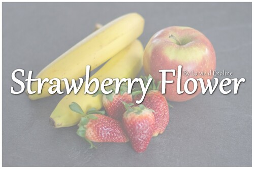 Recette kong : Le Strawberry Flower