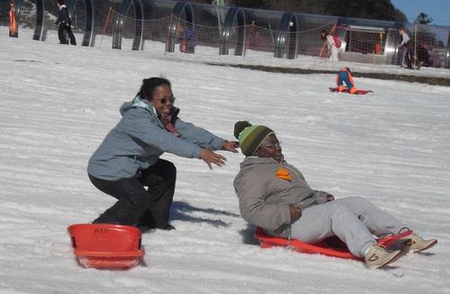 Sortie à la neige des jeunes du Doyenné
