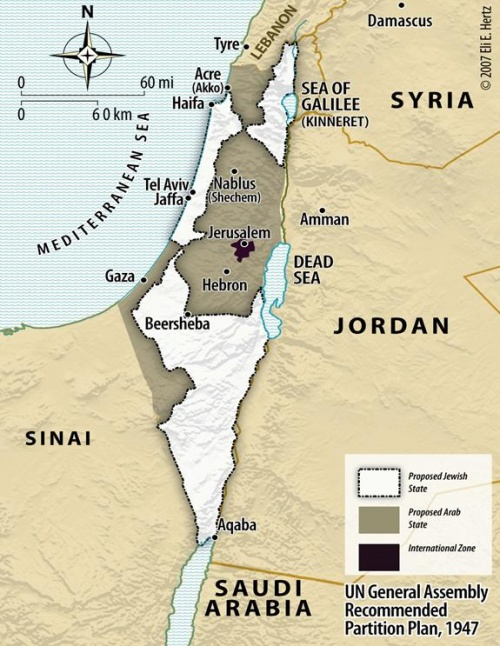 """La """" Palestine """" a toujours été  """" Juive """""""