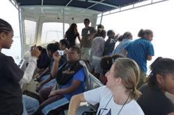Sortie des élèves de 5ème à l'îlot Hienga - Cliquer pour agrandir