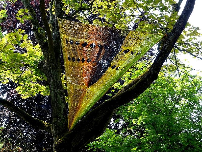 Metz / L'art dans les jardins 2014 / Edith Meusnier...