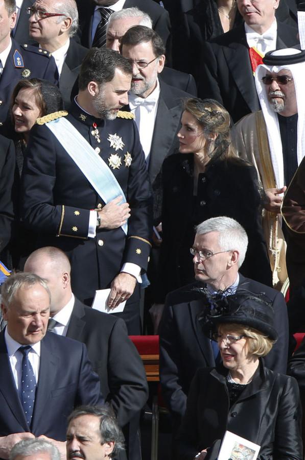 Felipe et Letizia à Rome