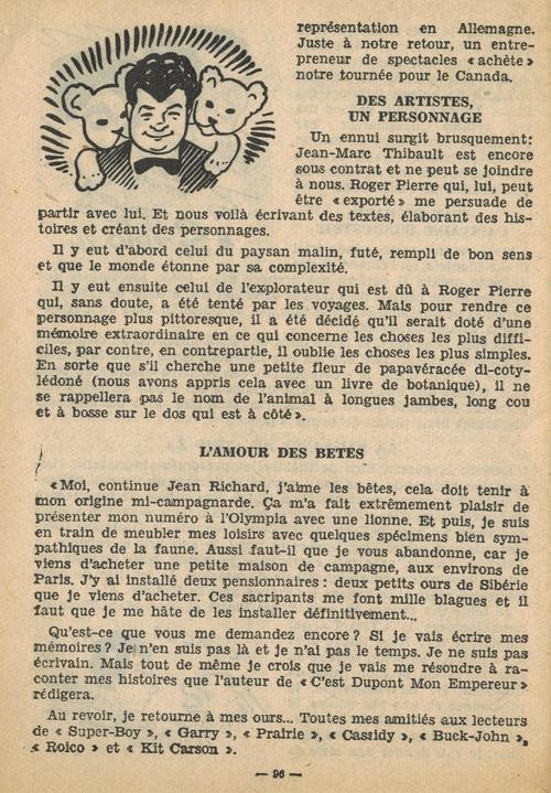 n°82 de Super Boy, mai 1956