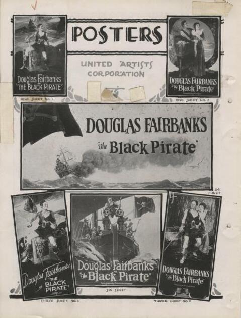 THE BLACK PIRATE PRESSBOOK 1926