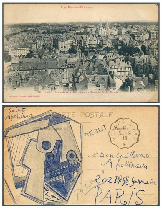 Carte Postale à 200.000 euro
