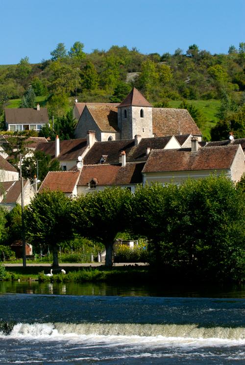 De  Clamecy  à Auxerre .