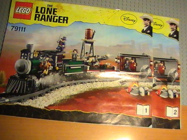 Légo The Lone Ranger n° 79111 de 2013 - La course poursuite dans le train.