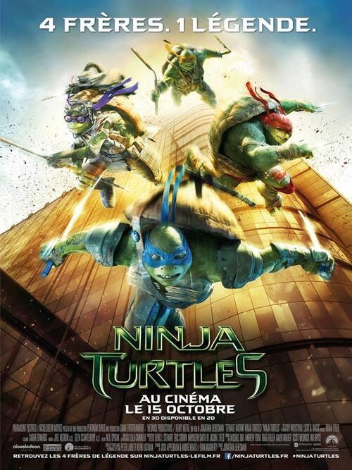 "Bonsoir a l'honneur : "" Ninja Turtles """