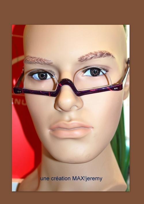 lunette de lecture sur mesure