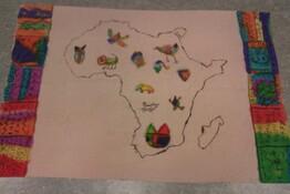Organigramme du projet sur l'Afrique