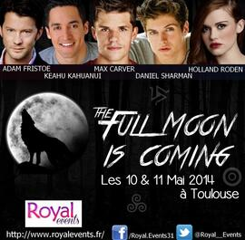 The full moon is coming