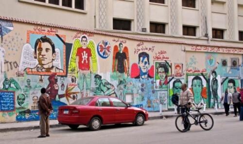 Cairo Port Saïd mural 8