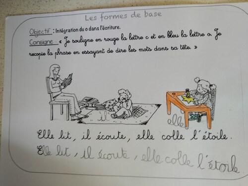 Récap' enseigner le geste d'écriture