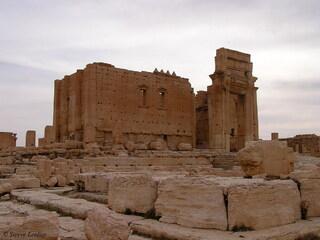 palmyre : Temple de Ba'al ou Bel