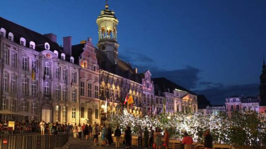 mons, grand place, france info, great market, bergen, be,2015