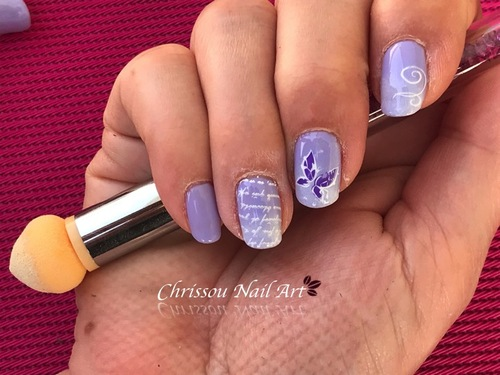 Dégradé VSP et Clear jelly stamper