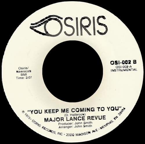 1975 : Single Osiris Records OSI - 002 [ US ]