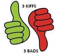 3 BADS- 3 KIFFS