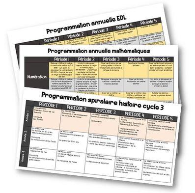 Programmations 2015-2016