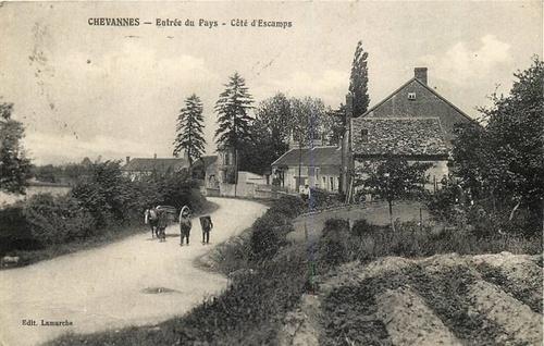 Famille Merat de Chevannes (89)