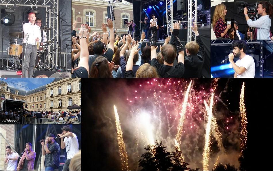 Un mois de juillet à Amiens
