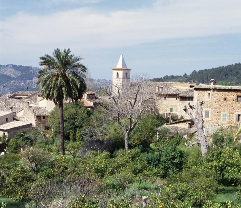 Biniaraix - petit village au dessus de Soller