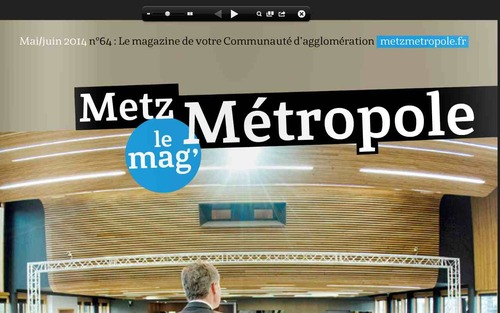 Metz Mag de juin et Metz Métropole le mag' de mai et juin 2014