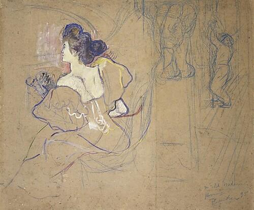 Misia par Toulouse-Lautrec