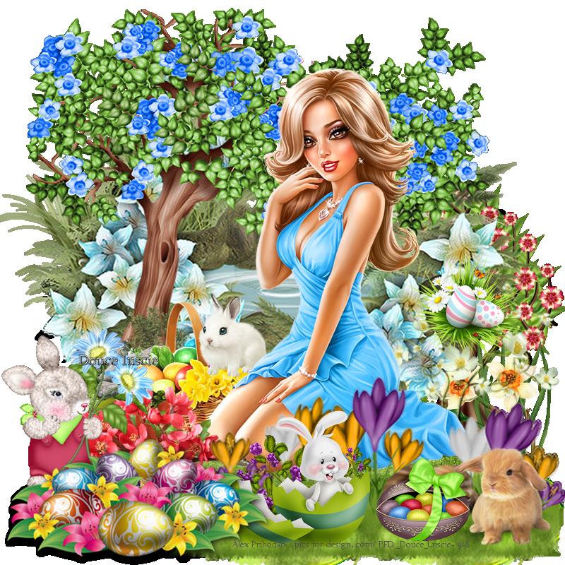 Défi Pâques no 1 Annette