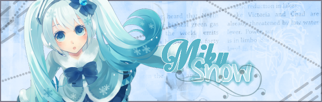 Signa Miku Snow