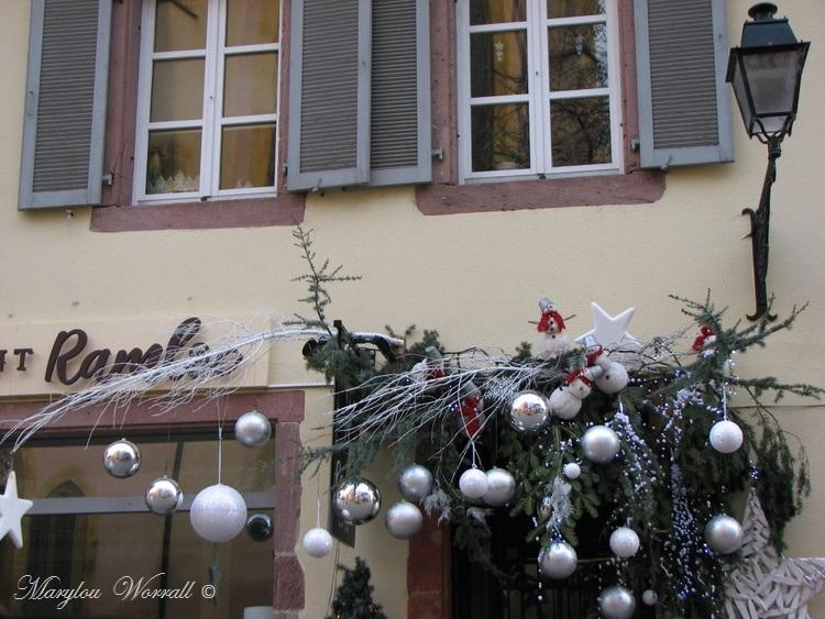 Au temps des marchés de Noël : Colmar, Rue des Chasseurs etc.