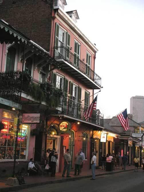 Bourbon street. Nouvelle Orléans