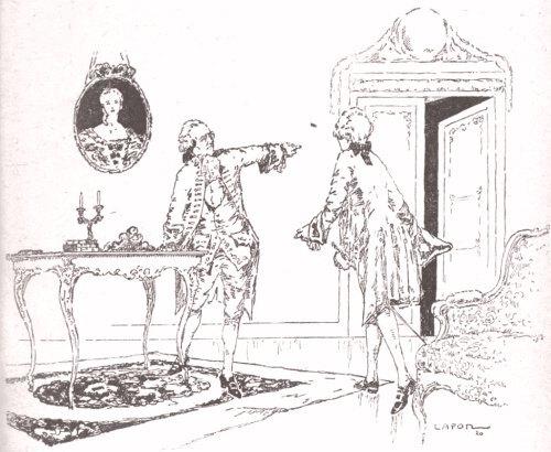 Le comte d'Evreux prie Darsthrall de quitter les lieux