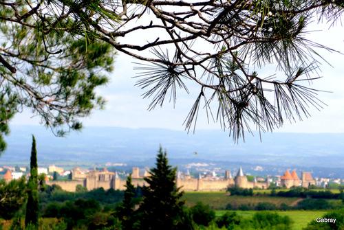 Carcassonne: vues de la Cité...