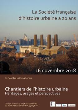 Chantiers de l'histoire urbaine. Héritages, usages et perspectives