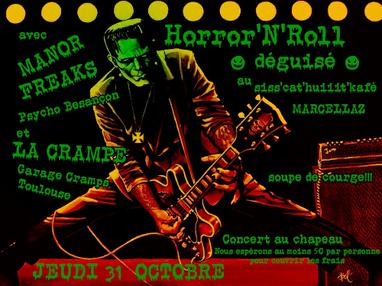 Soirée Horror'N'Roll, à La Ferme Coloquinte - Marcellaz (Haute-Savoie)