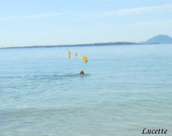 Promenade à la plage d'Antibes