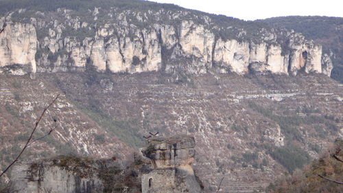 De la croix de Montfraysse au Madasse , sublime et ravines
