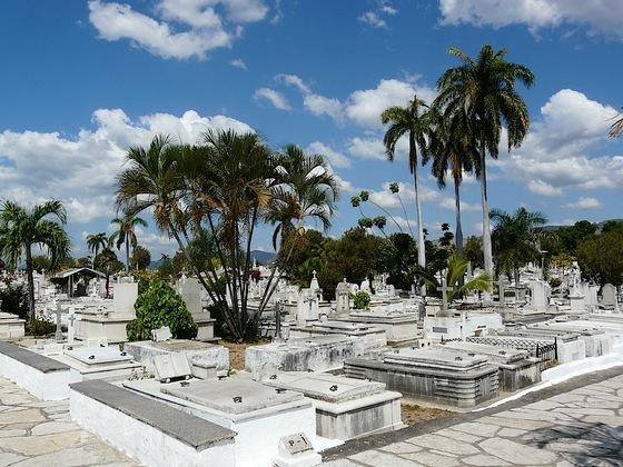 le cimetière Santa Ifigenia à Santiago