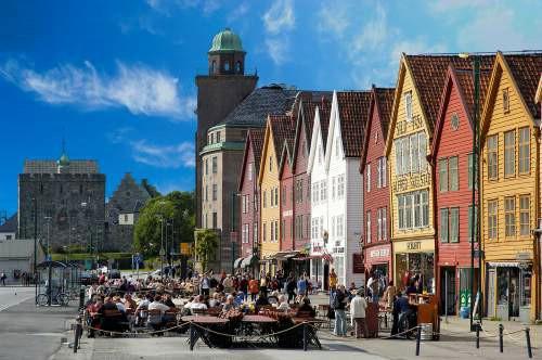 La ville de Bergen