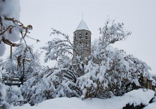 Il neige en Ile de France...