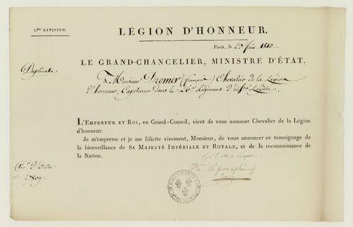 * DROMER  François-Michel