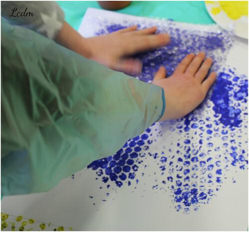 Peinture à quatre mains