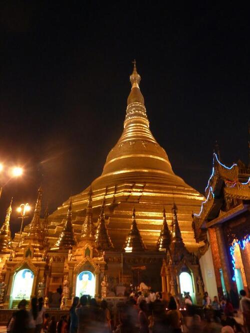 Second pays du tour du monde : Le Myanmar (1)