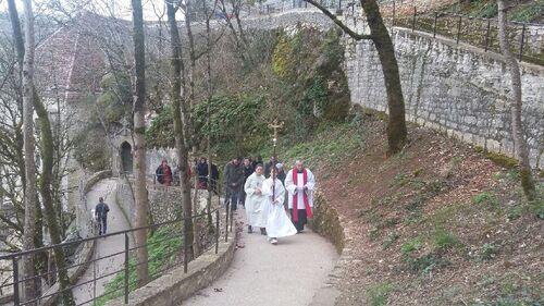 Premier  chemin de croix de carême