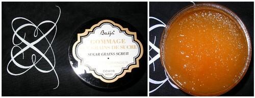 Ma boîte à beauté : baija gommage sucre
