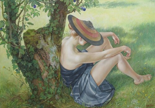 Francine Van Hove, artiste française