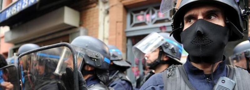 Les policiers manifestent dans toute la France !