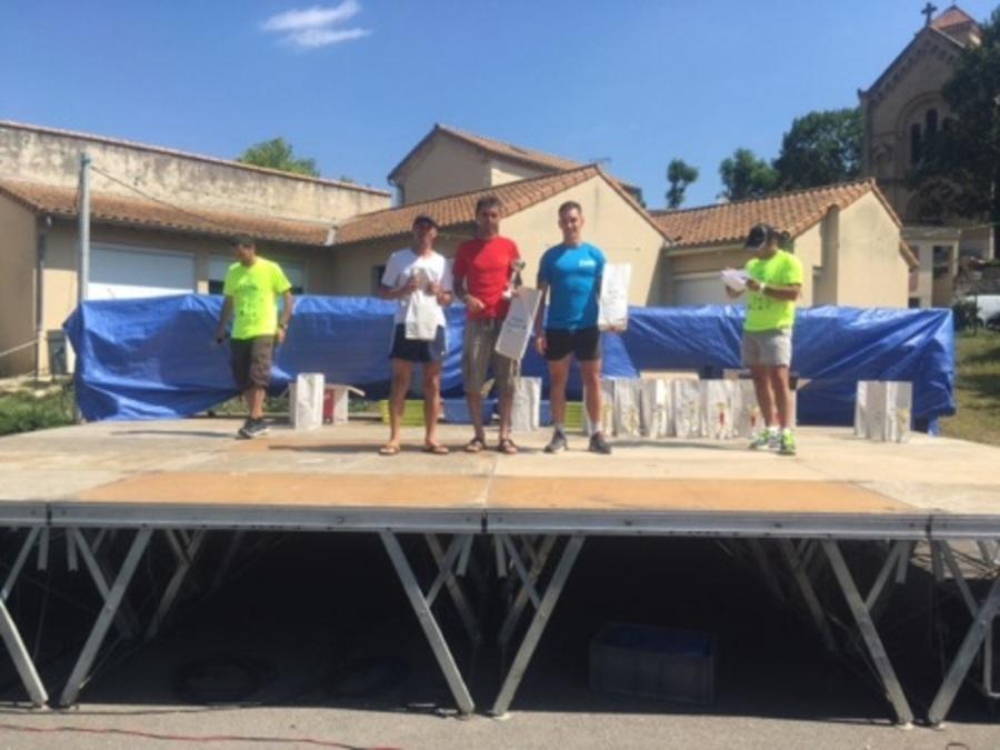 Trail des écoliers 2017 à Divajeu