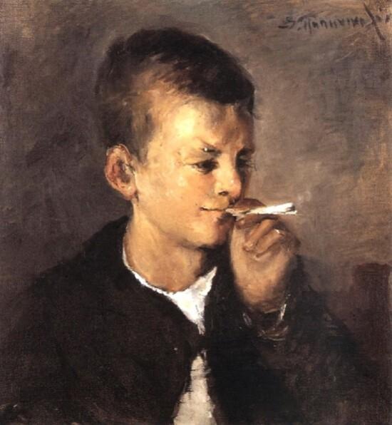 Spyridon-Papanikolaou--la-1ere-cigarette.jpg